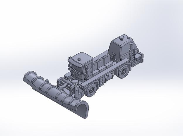 OK H gen3 ver2 plow rev2 in Smoothest Fine Detail Plastic: 1:200