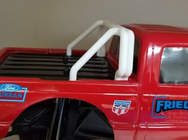 Realistic F250 Roll Bar-No lights in White Natural Versatile Plastic