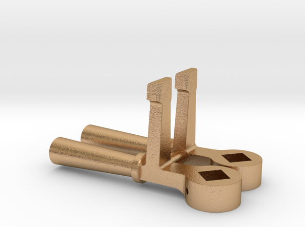 """1.42"""" scale SAR Sanding Cylinder and Rocking grate in Natural Bronze"""
