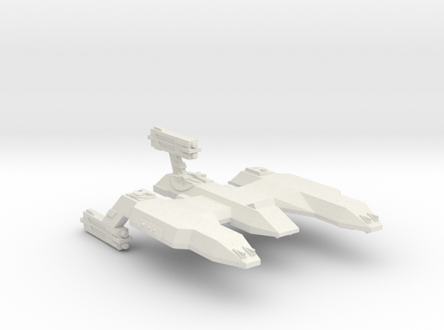 3788 Scale Lyran Desert Lion Light Dreadnought CVN in White Natural Versatile Plastic