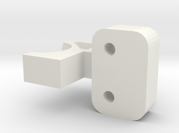CW01 Lunchbox Pumpkin Axel Brace in White Natural Versatile Plastic