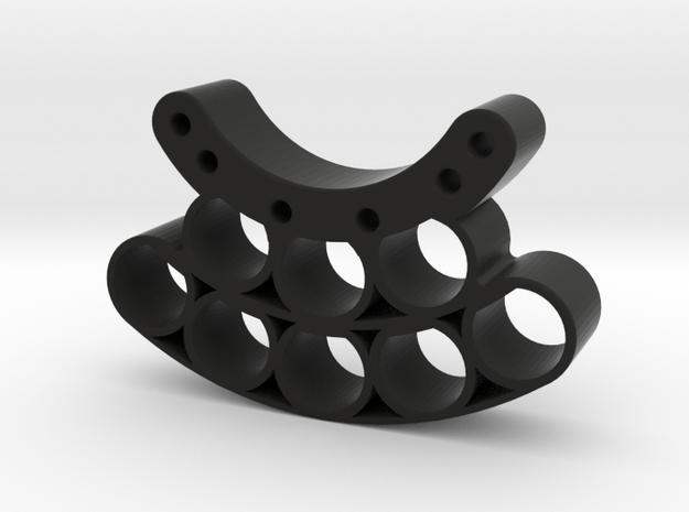 OD85-Tungsten PINEWOOD support -V6 -OD85 - in Black Natural Versatile Plastic