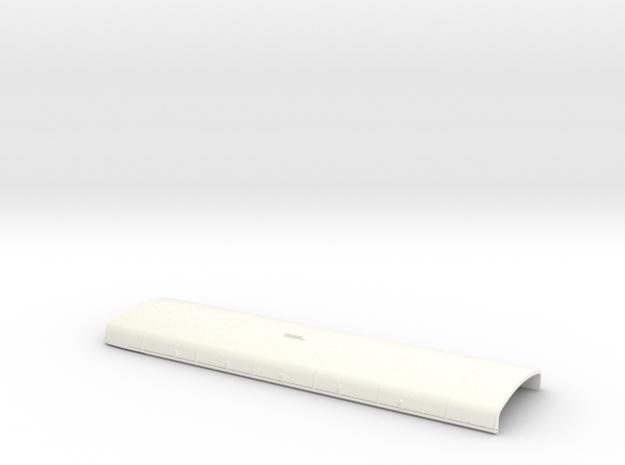 1:43 RF Green Line Roof in White Processed Versatile Plastic
