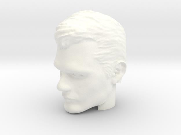 Superman Head | Henry Cavill in White Processed Versatile Plastic