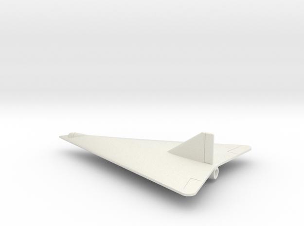 (1:144) Horten Ho X (Entwurf III) in White Natural Versatile Plastic