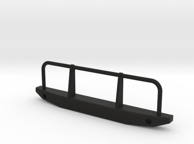 Front Bumper 1 in Black Natural Versatile Plastic