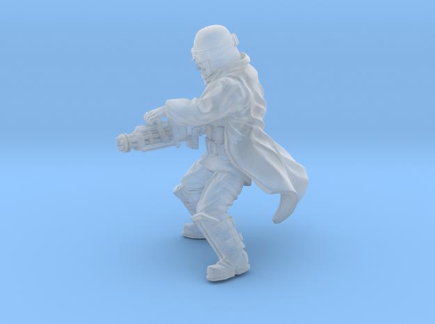 Grunge Trooper Heavy rotatory blaster in Smoothest Fine Detail Plastic