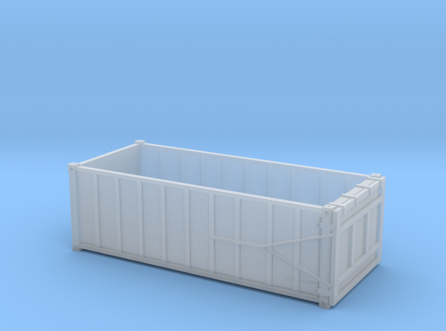 HO 1/87 EPIC Trash container 9-rib in Smooth Fine Detail Plastic