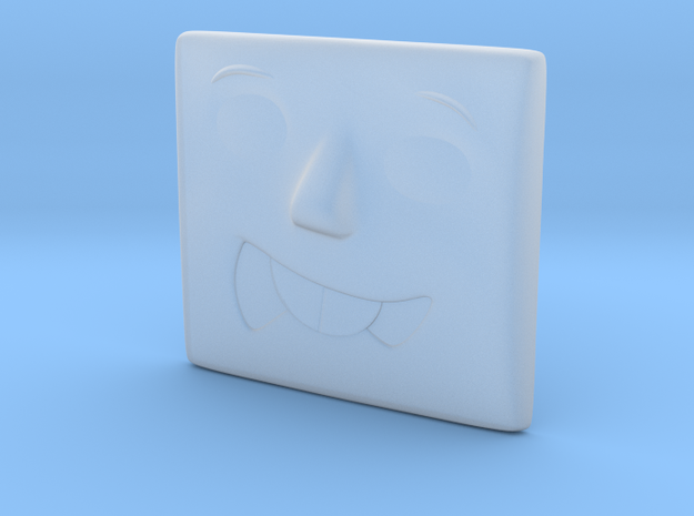 Silly Face in Smoothest Fine Detail Plastic