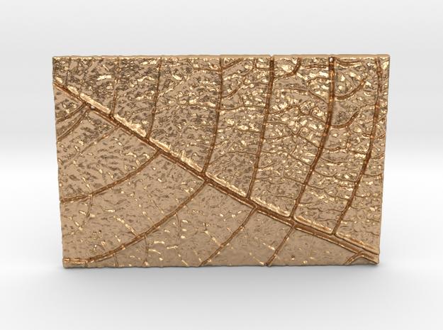 VENA SQ pendant_03 in Natural Bronze