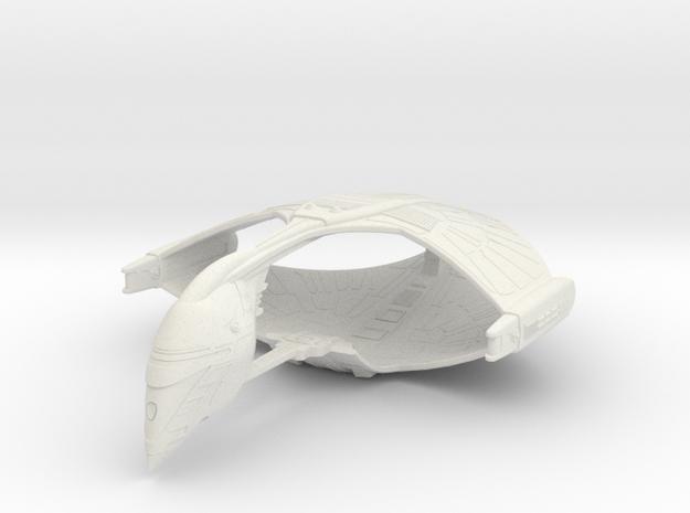 Romulan Star Empire - Warbird (small) in White Natural Versatile Plastic