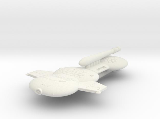 3788 Scale Gorn Godzilla+ Battleship (BB+) SRZ in White Natural Versatile Plastic