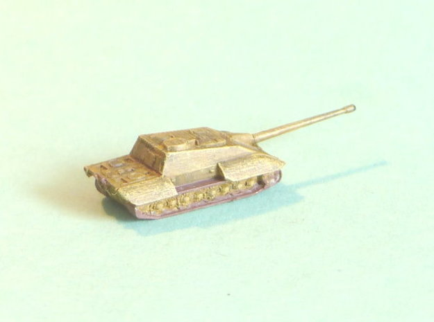 E-100 Jagdpanzer Tankhunter 1/285 6mm 3d printed Add a caption...