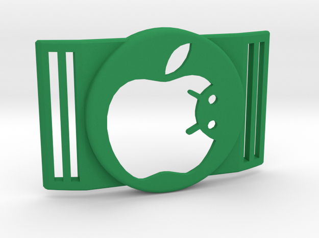 Freestyle Libre Shield - Libre Guard APPLE ANDROID in Green Processed Versatile Plastic