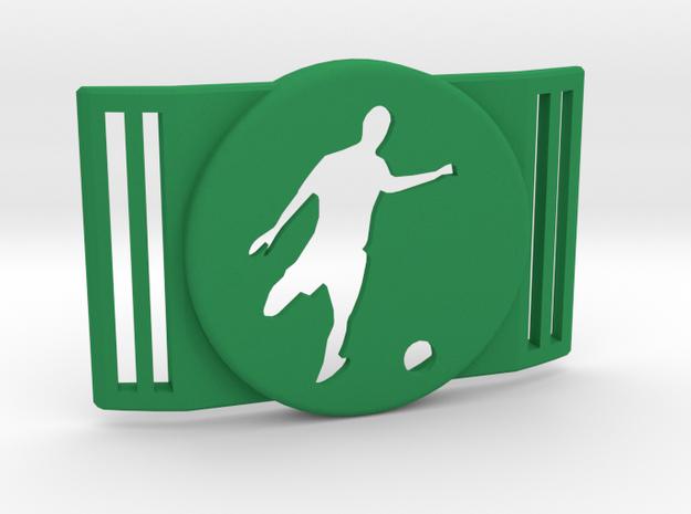 Freestyle Libre Shield - Libre Guard FOOTBALL in Green Processed Versatile Plastic