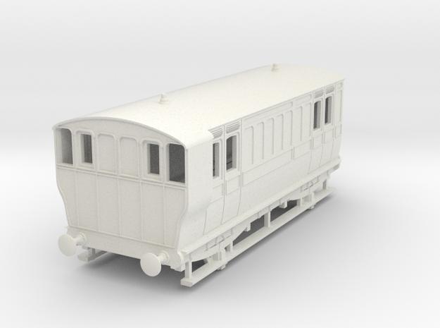 o-87-ger-mslr-4w-brake-coach-no1-1 in White Natural Versatile Plastic