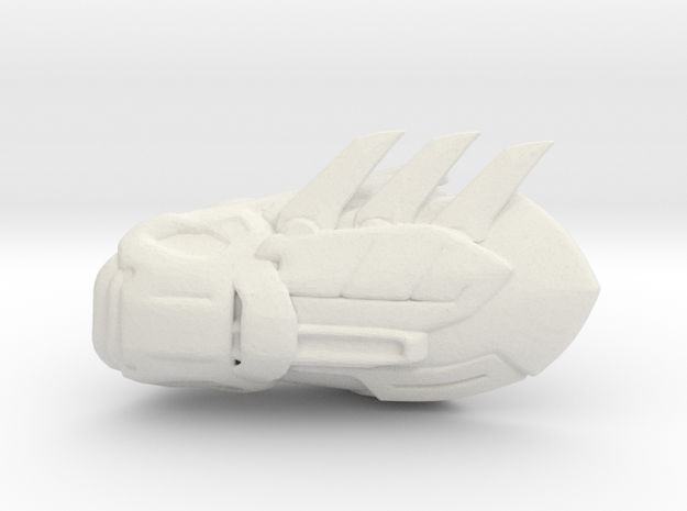 Batman Gauntlet Right in White Natural Versatile Plastic