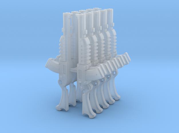 Escher Combat Shotguns (x10) in Smoothest Fine Detail Plastic