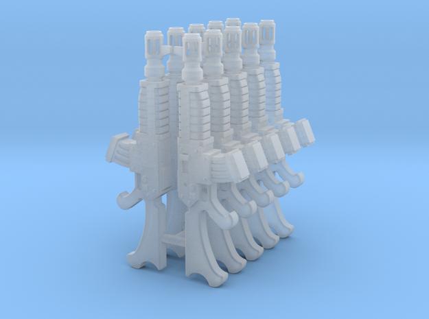 Escher Queensguard Autoguns (x10) in Smoothest Fine Detail Plastic