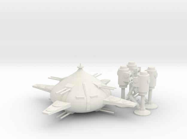 MAX-03 Adzam  in White Natural Versatile Plastic: 1:400