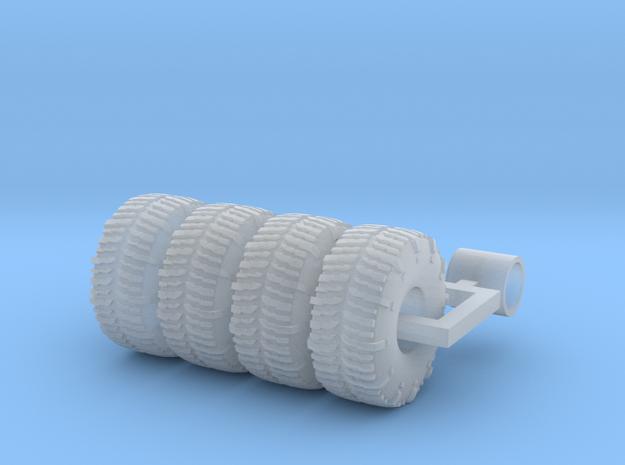 1/87 39.5 x 18 x 15 tsl swamper x 4 in Smoothest Fine Detail Plastic