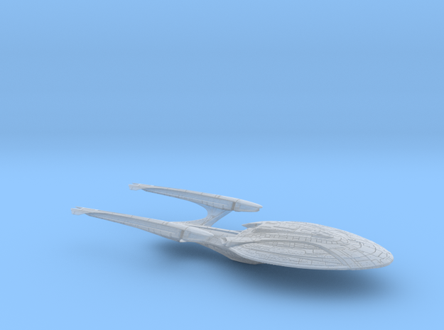 Yorktown-Class (Enterprise-F) Single-Piece in Smooth Fine Detail Plastic: Medium