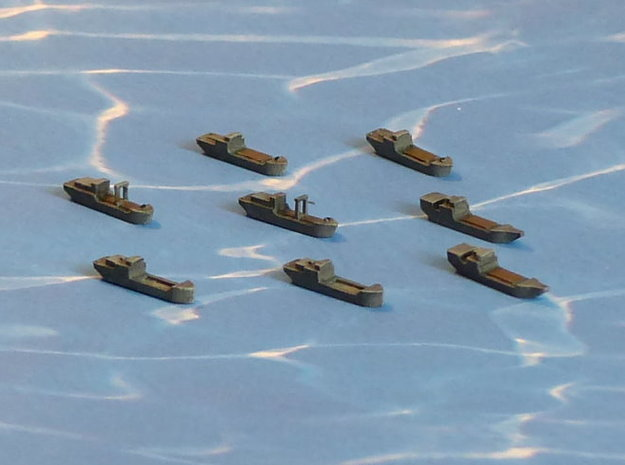 """IJN Coastal Freighters """"Sea Truck"""" 1/2400 3d printed Add a caption..."""