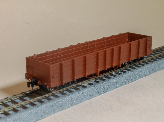 DRGW Gondola C12 HOn3 in Smooth Fine Detail Plastic