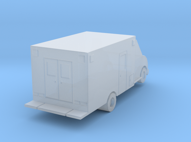 Airport Ambulance in Smoothest Fine Detail Plastic: 1:400