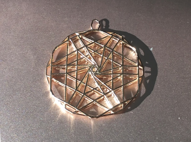 Undertow in 14k Rose Gold Plated Brass