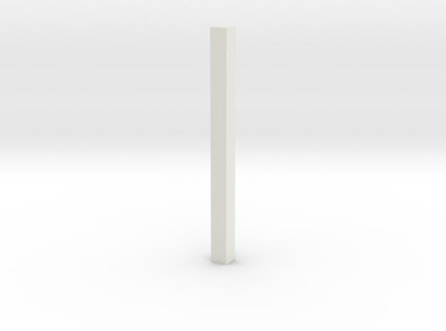 shkr066 - Teil 66 Dachstützbalken 1-2 Höhe in White Natural Versatile Plastic