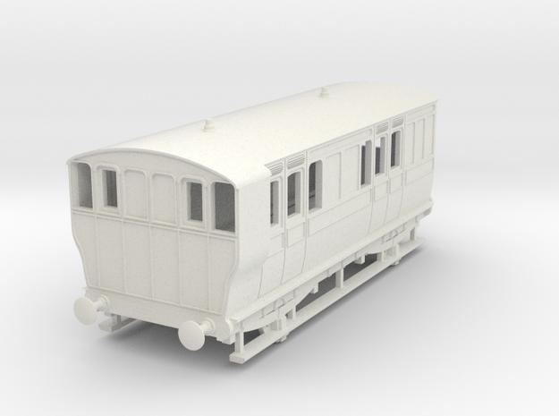 o-87-ger-wisbech-4w-brake-coach-no16-1 in White Natural Versatile Plastic
