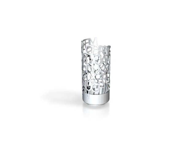 Xmass ring 2 3d printed