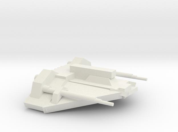 T-34 Air Speeder in White Natural Versatile Plastic