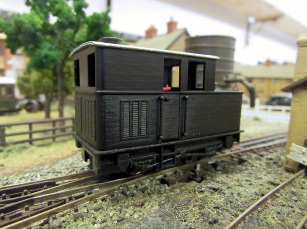 009 Sentinel (Single Window Cab & Vents) - Part 4C in Smooth Fine Detail Plastic
