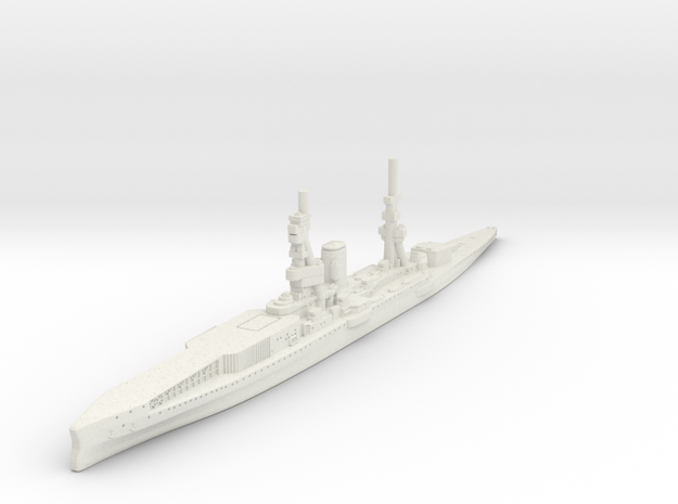 Furious Class 1917 (Hybrid Carrier) in White Natural Versatile Plastic