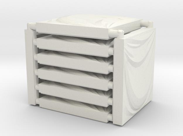 3 x 3 Draped Cloth Set in White Natural Versatile Plastic