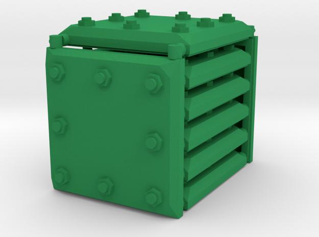 3 x 3 Armour Set in Green Processed Versatile Plastic