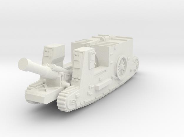 Mk I Gun Carrier (UK) in White Natural Versatile Plastic