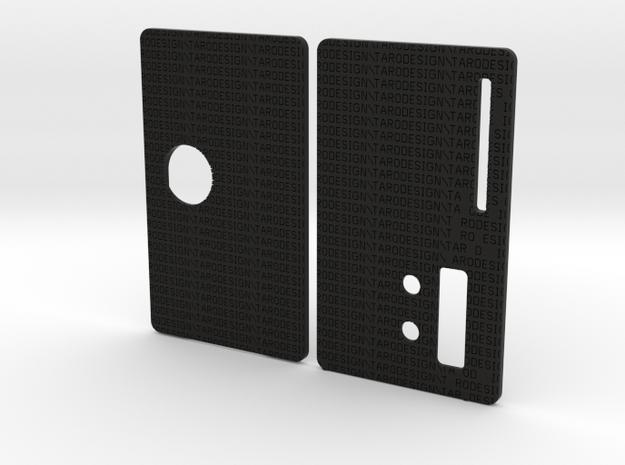 Sportello Billet Box Rev4  variante 7 in Black Natural Versatile Plastic