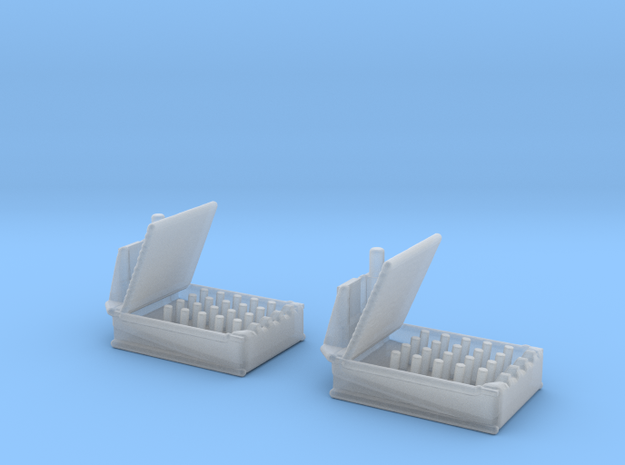 1/300 Scale HedgeHog MK 10 Mod 1 Set of 2 in Smooth Fine Detail Plastic