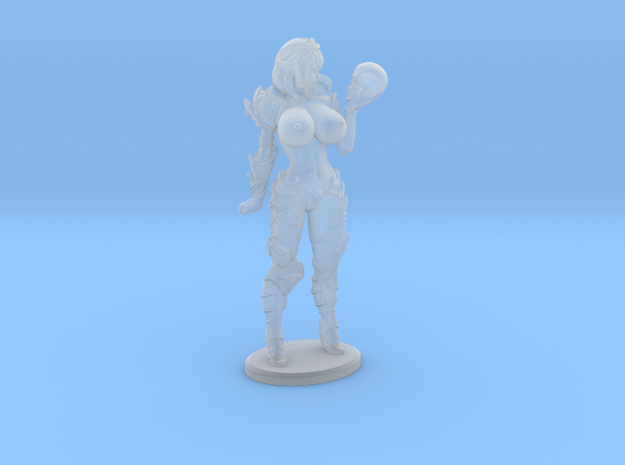 Dark Queen TOPLESS VARIANT - 40mm in Smoothest Fine Detail Plastic