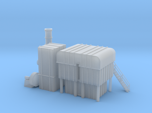 'N Scale' - Organic Vapor Air Cleaner in Smooth Fine Detail Plastic