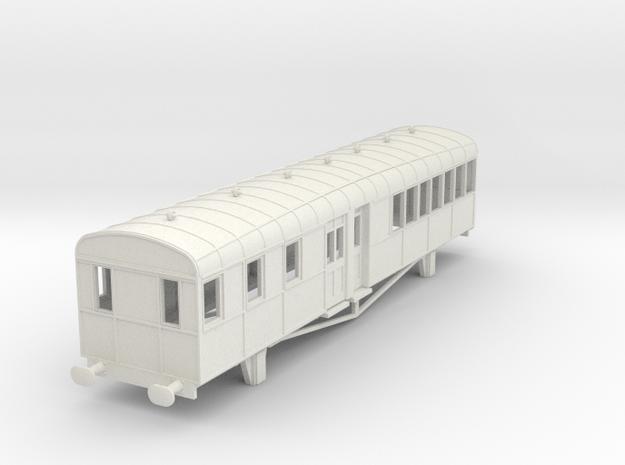 0-87-lner-clayton-railcar-trailer-1 in White Natural Versatile Plastic