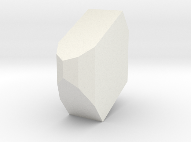 Orthoclase 4 in White Natural Versatile Plastic