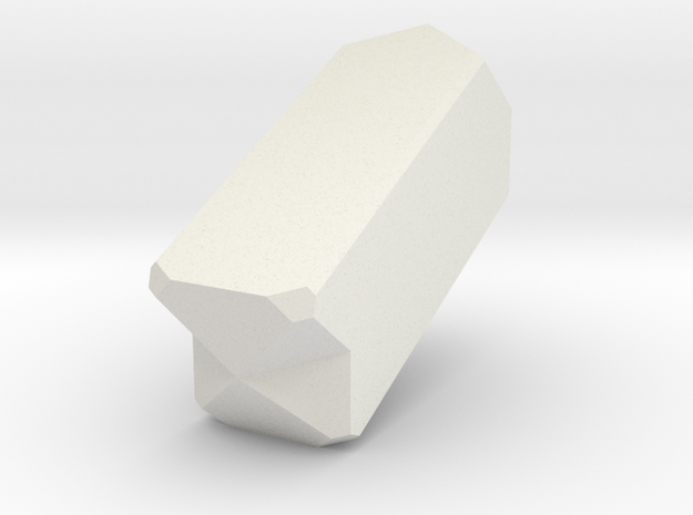 Orthoclase 434 in White Natural Versatile Plastic
