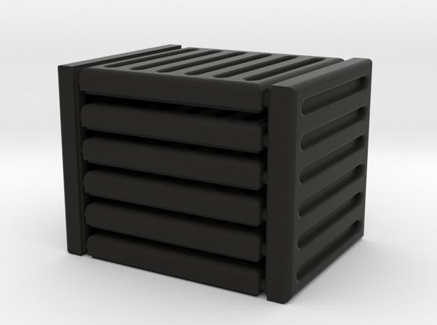 3 x 3 Grate Set in Black Natural Versatile Plastic