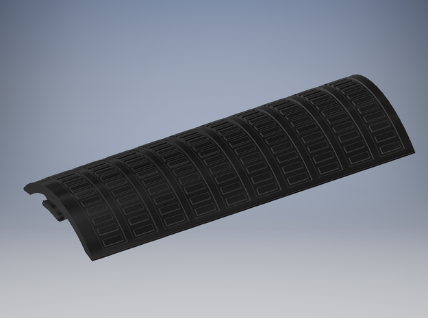 PP - Ben Solo TLJ - Main Chassis Cover For CC in Black Natural Versatile Plastic