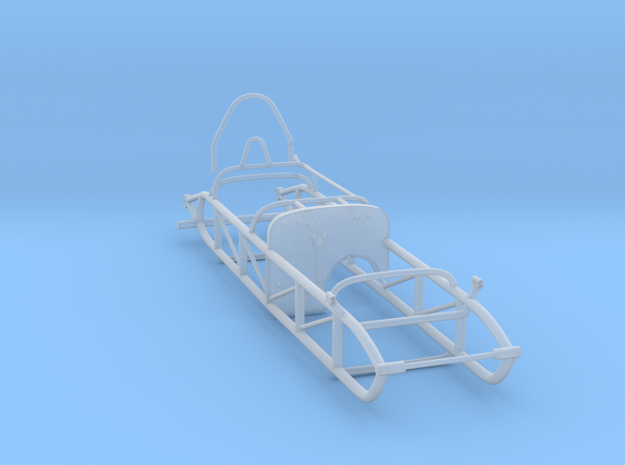 Watson Roadster Frame 1/25 scale in Smooth Fine Detail Plastic