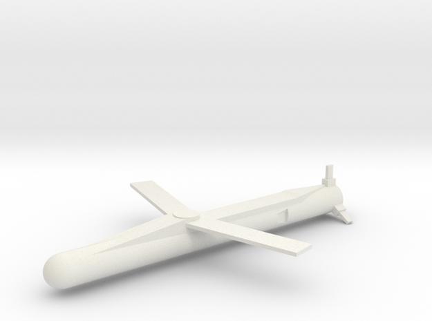 MBDA SPEAR 3 Wings extended 1/72 in White Natural Versatile Plastic